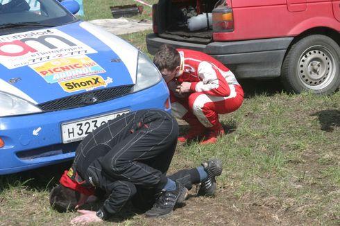 Форд в Петербурге ралли в Сестрорецке