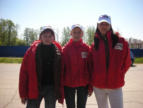3 промоутера после промо-шоу в Сестрорецке
